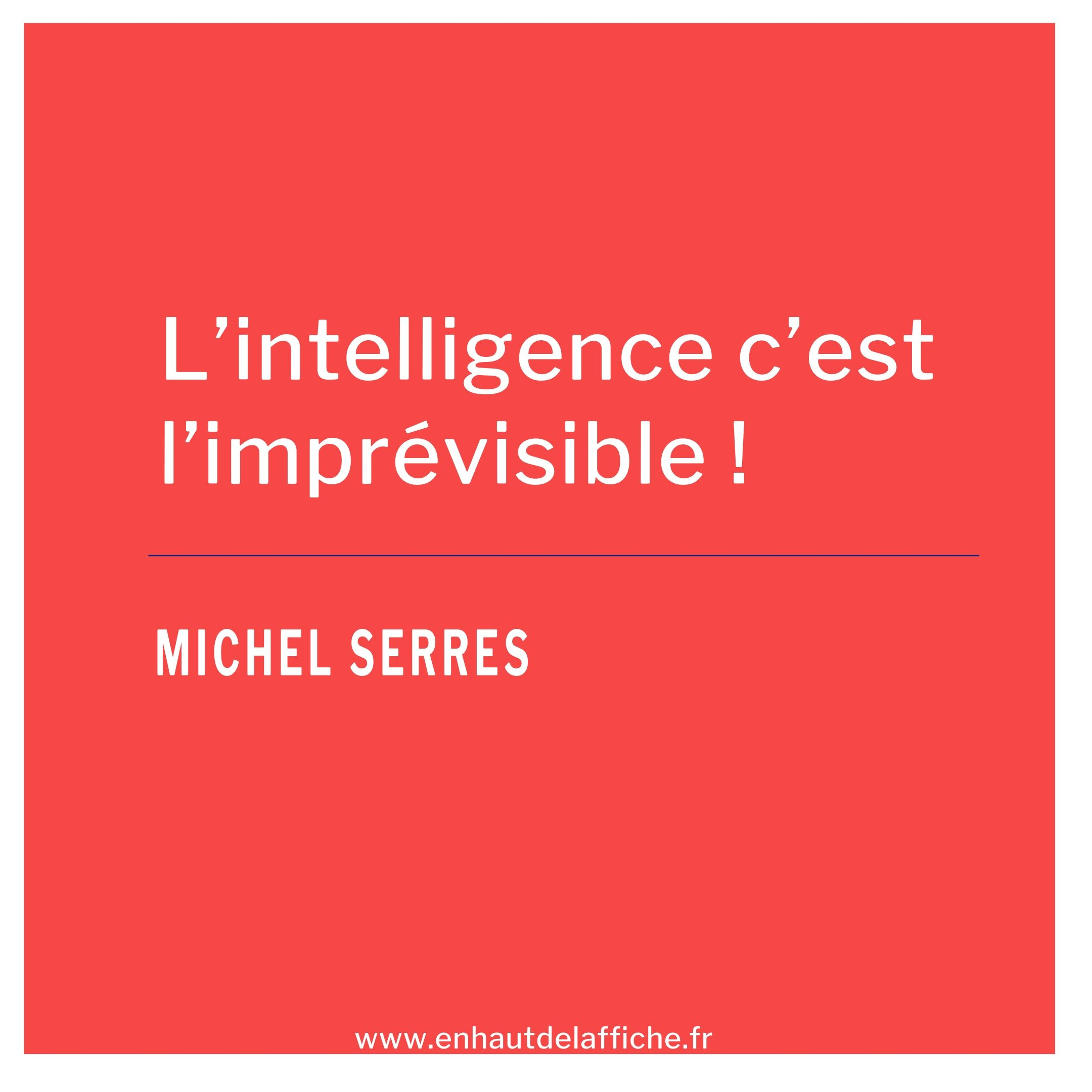 citation Michel serres
