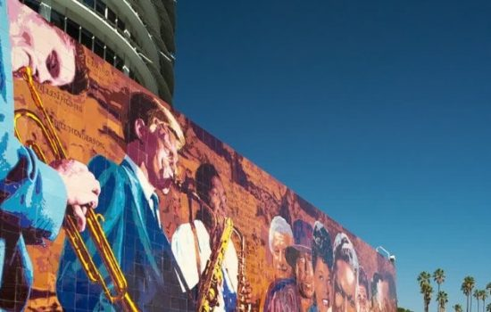Jazz band, LA Mural