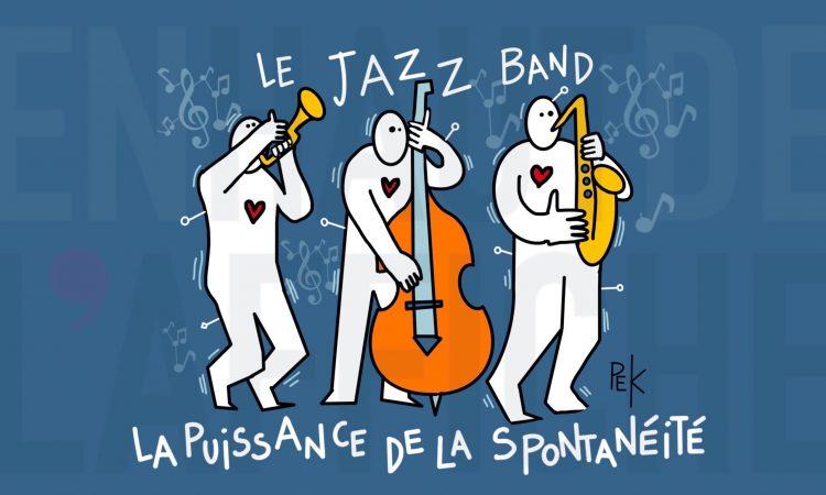 La puissance de la spontanéité par Sylvaine Messica, illustration PEK (c) tous droits réservés