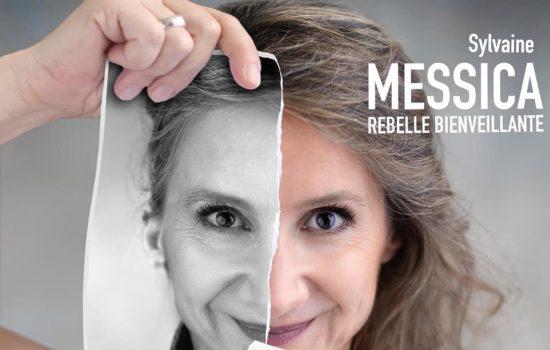 Pochette de l'EP Rebelle bienveillante de Sylvaine Messica