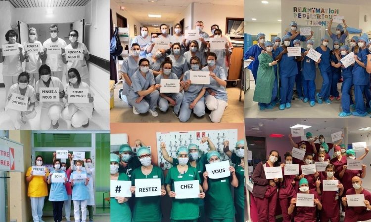 Solidarité avec les soignants Coronavirus covid19