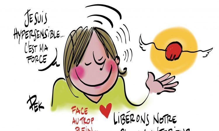 Hypersensible pendant la crise article de Sylvaine Messica et illustration de Philippe-Elie Kassabi