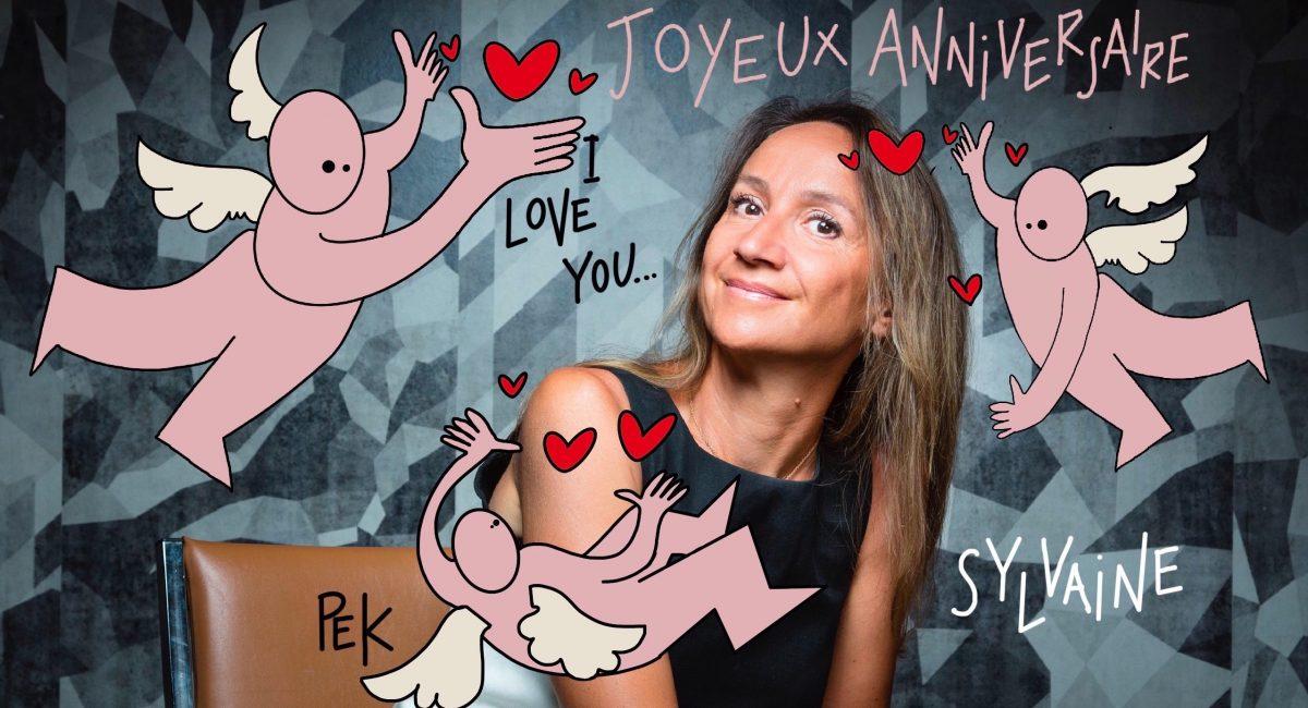 Sylvaine messica, dessin de PEK