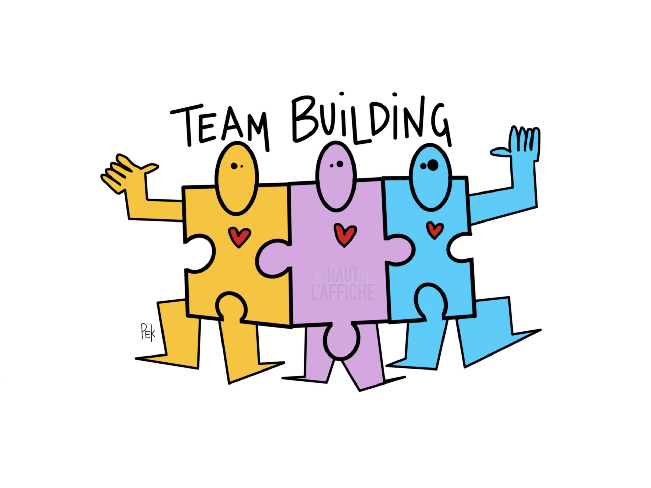 EN HAUT DE L'AFFICHE Team_Building