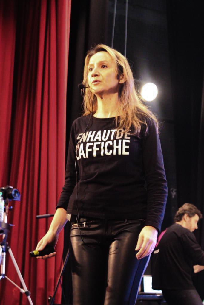Sylvaine Messica, En Haut de l'affiche