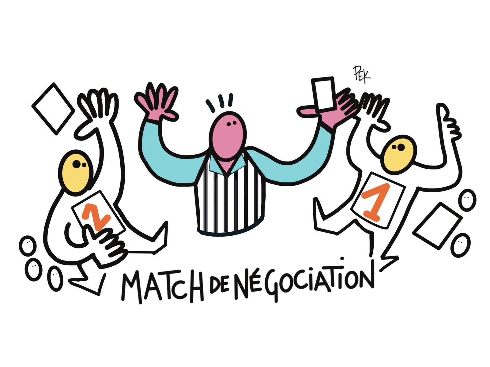 EN HAUT DE L'AFFICHE Match Negociation