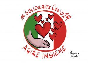 Solidarité Covid-19 Italie