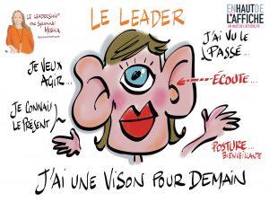 Webinaire leadership en temps de crise de Sylvaine Messica illustré en direct par Philippe-Elie Kassabi
