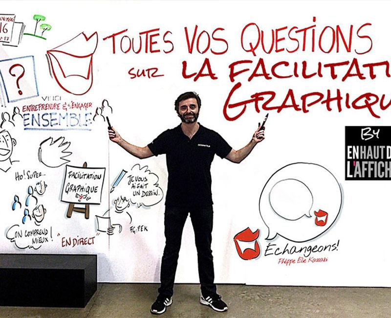 Agence évènementielle de facilitation graphique